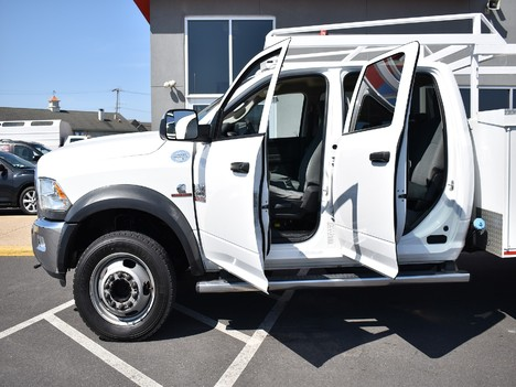 USED 2015 RAM 5500 CREW CAB 4X4 SERVICE - UTILITY TRUCK #12505-5