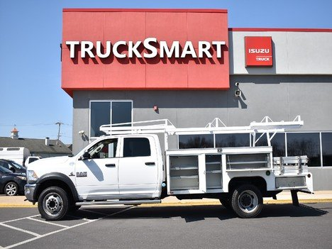 USED 2015 RAM 5500 CREW CAB 4X4 SERVICE - UTILITY TRUCK #12505-7