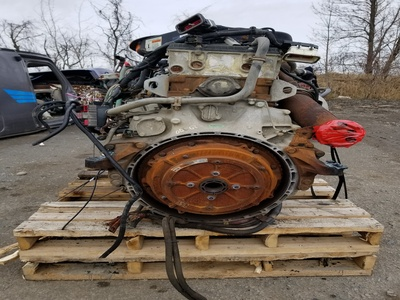 USED 2008 KENWORTH T600 COMPLETE ENGINE TRUCK PARTS #11-3