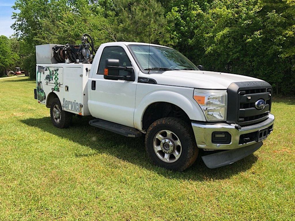 USED 2014 FORD F250 SERVICE - UTILITY TRUCK #3454
