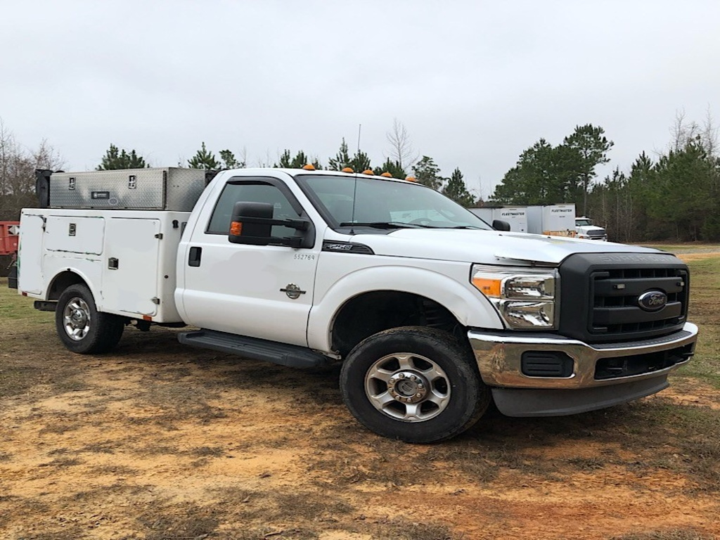 USED 2013 FORD F250 SERVICE - UTILITY TRUCK #3456