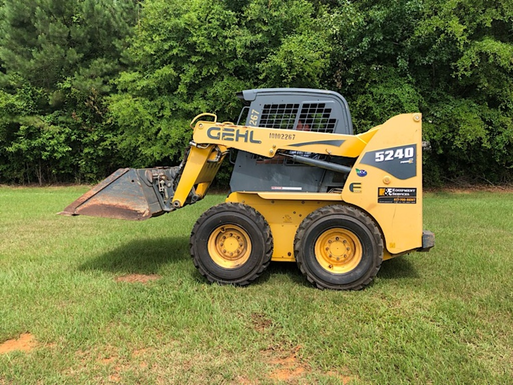 USED 2012 GEHL 5240 SKID STEER WHEEL LOADER EQUIPMENT #3539