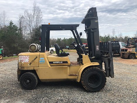 USED 2004 CAT GP50KLP MAST FORKLIFT EQUIPMENT #3563-1