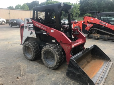 USED 2014 OTHER TAKEUCHI TS50V SKID STEER WHEEL LOADER EQUIPMENT #3622-1