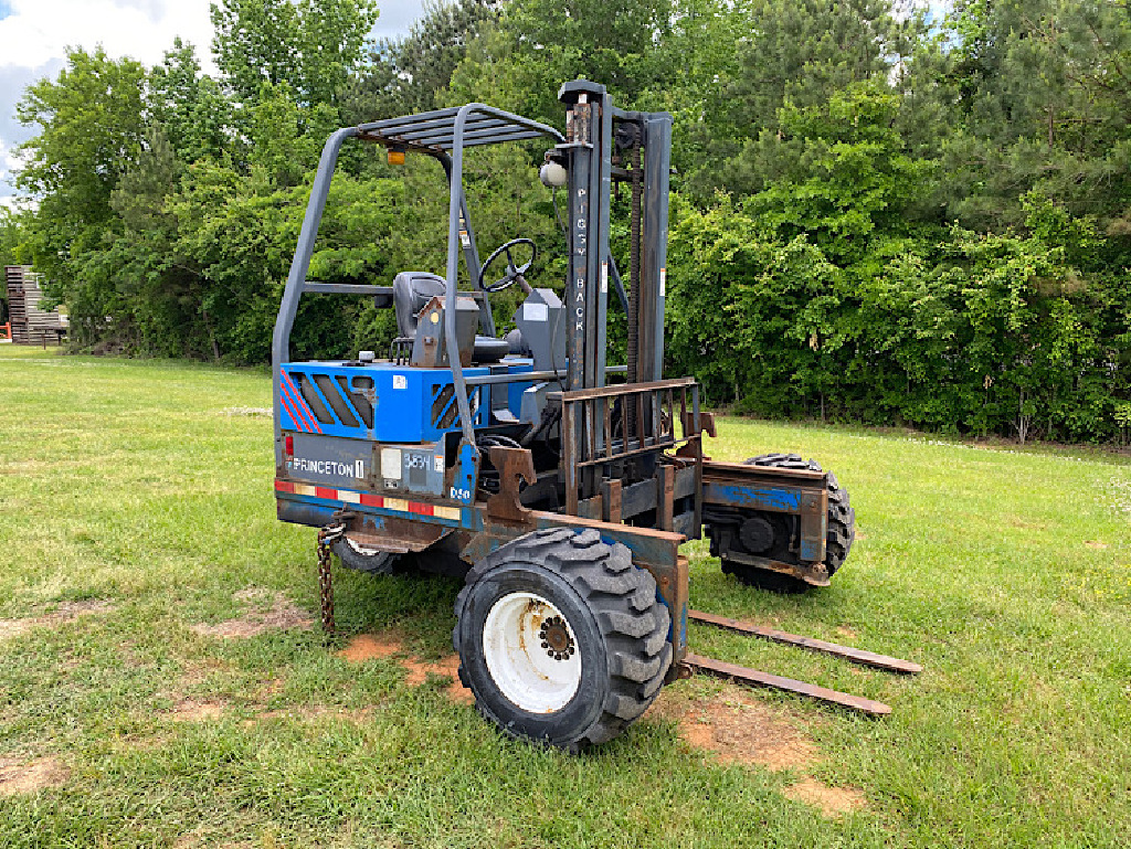 USED 2002 OTHER PRINCETON D50 TELESCOPIC FORKLIFT EQUIPMENT #3834