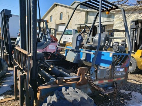 USED 2002 OTHER PRINCETON D50 TELESCOPIC FORKLIFT EQUIPMENT #3834-2
