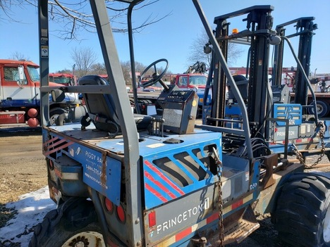 USED 2002 OTHER PRINCETON D50 TELESCOPIC FORKLIFT EQUIPMENT #3834-3