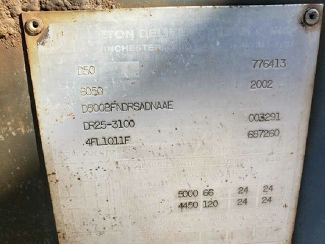 USED 2002 OTHER PRINCETON D50 TELESCOPIC FORKLIFT EQUIPMENT #3834-6