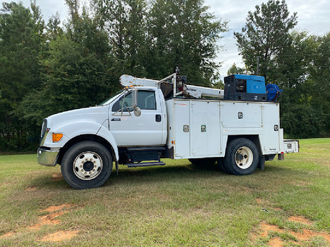 USED 2007 FORD F650 SERVICE - UTILITY TRUCK #4032-1