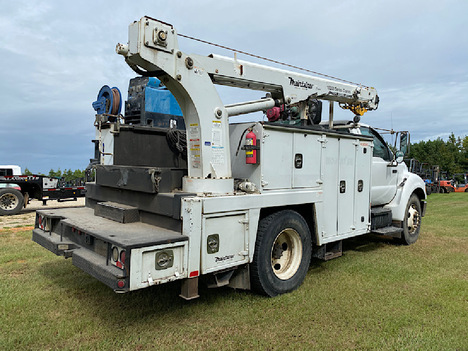 USED 2007 FORD F650 SERVICE - UTILITY TRUCK #4032-3