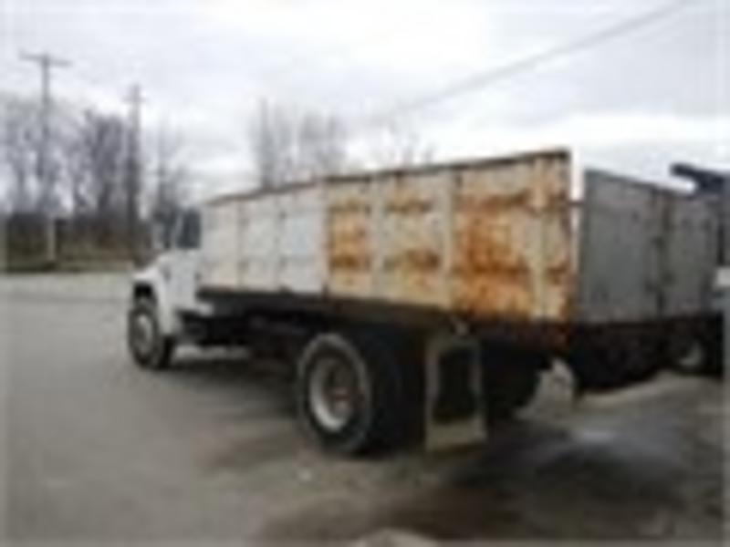 INTERNATIONAL FLATBED DUMP TRUCK FOR SALE | #6833