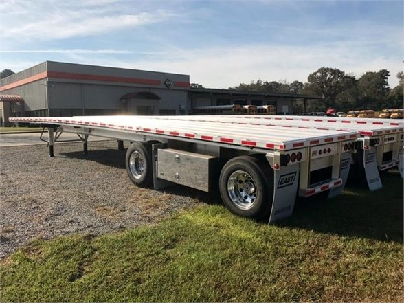 NEW 2018 EAST 48 FT FLATBED TRAILER #1380