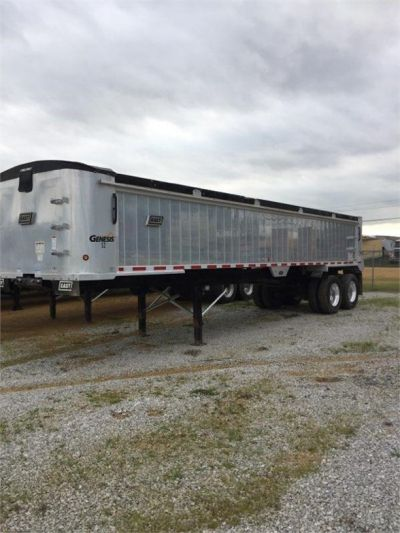 USED 2017 EAST 35 FT DUMP END DUMP TRAILER #1473-1