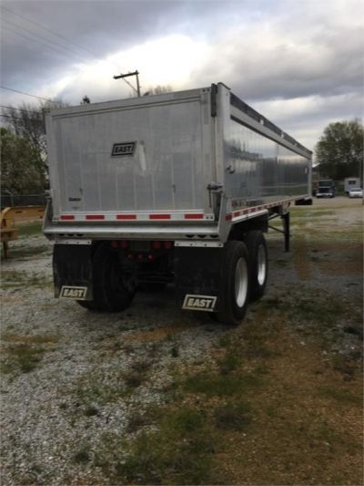 USED 2017 EAST 35 FT DUMP END DUMP TRAILER #1473-3