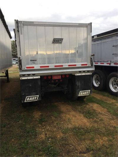 USED 2017 EAST 35 FT DUMP END DUMP TRAILER #1473-4