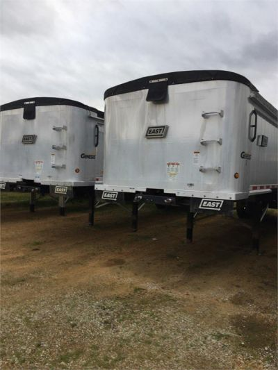 USED 2017 EAST 35 FT DUMP END DUMP TRAILER #1473-5