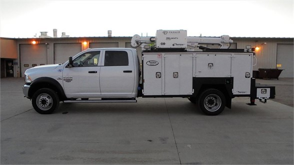 NEW 2018 DODGE RAM 5500 SERVICE - UTILITY TRUCK #1481