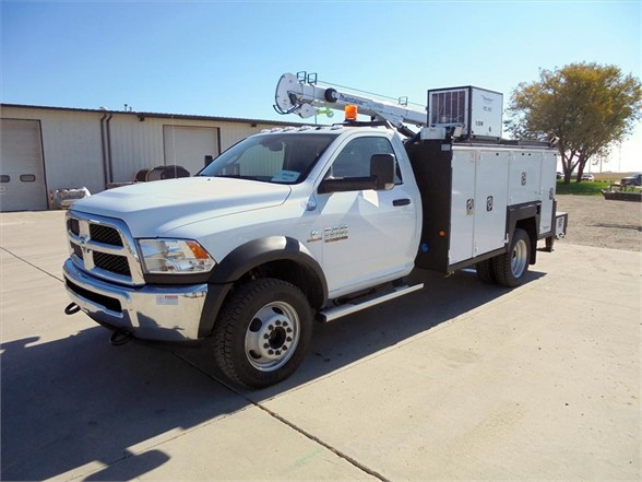 NEW 2018 DODGE RAM 5500 SERVICE - UTILITY TRUCK #1485