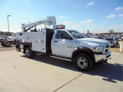 NEW 2018 DODGE RAM 5500 SERVICE - UTILITY TRUCK #1493-6