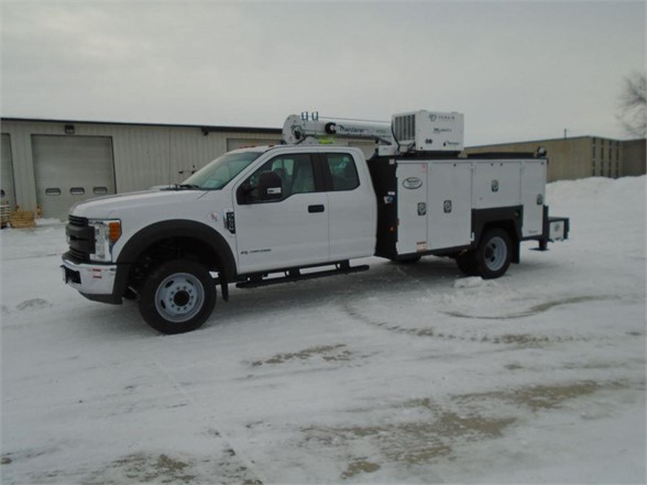 NEW 2019 FORD F550 XL SERVICE - UTILITY TRUCK #1496