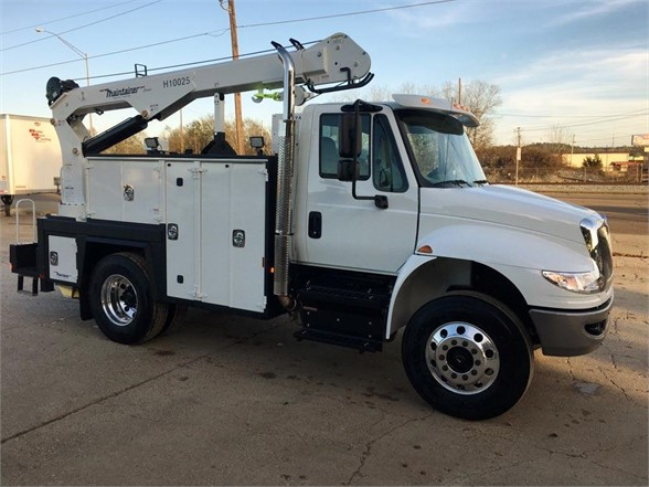 NEW 2018 INTERNATIONAL 4300 SBA SERVICE - UTILITY TRUCK #1502