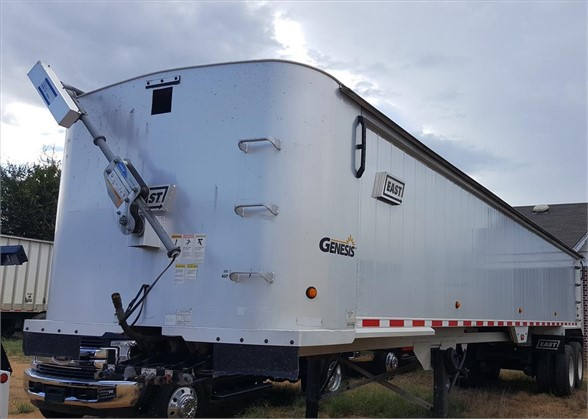 USED 2008 EAST GENESIS END DUMP TRAILER #133361