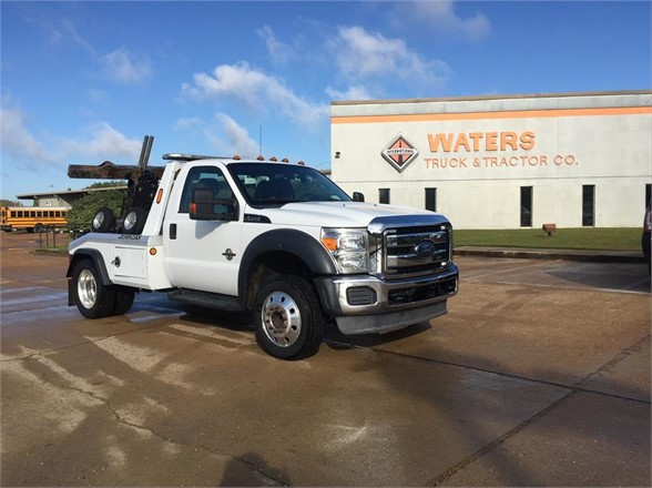 USED 2014 FORD F450 WRECKER TOW TRUCK #1601