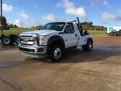 USED 2014 FORD F450 WRECKER TOW TRUCK #1601-3