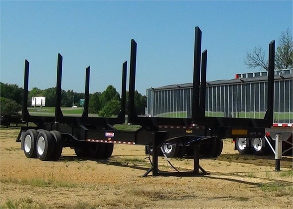 NEW 2019 PITTS LT40-8L FORESTRY - LOG TRAILER #1672