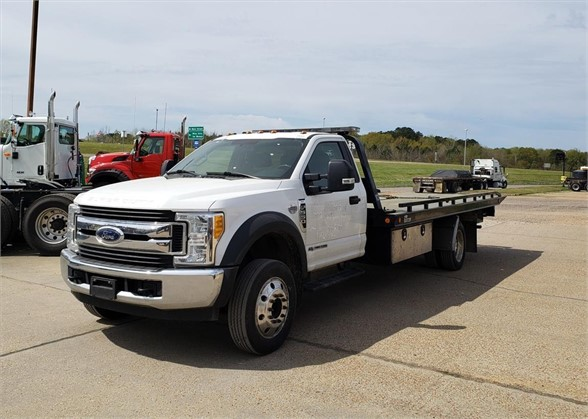 USED 2017 FORD F550 XLT ROLLBACK TOW TRUCK #1709