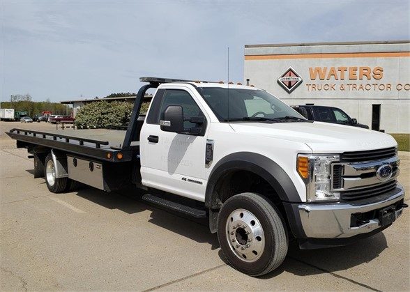 USED 2017 FORD F550 XLT ROLLBACK TOW TRUCK #1710