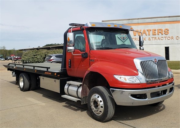 NEW 2019 INTERNATIONAL MV ROLLBACK TOW TRUCK #1718