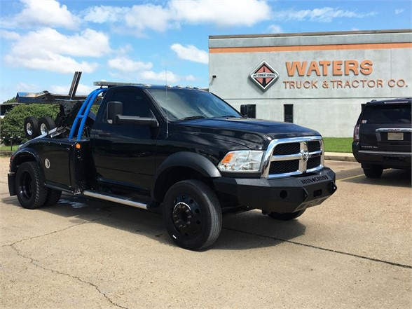 USED 2016 DODGE RAM 4500 WRECKER TOW TRUCK #1774