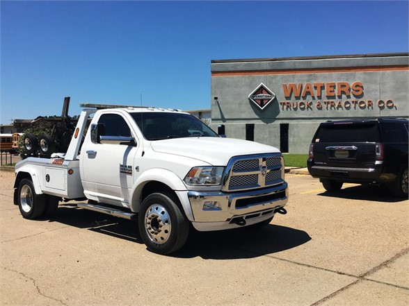 USED 2016 DODGE RAM 4500 WRECKER TOW TRUCK #1824