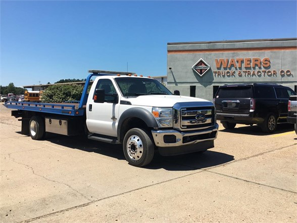 USED 2015 FORD F550 XLT ROLLBACK TOW TRUCK #1825