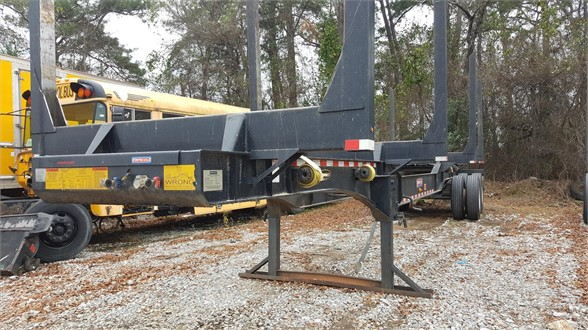 USED 2017 PITTS LT40-8L FORESTRY - LOG TRAILER #1901
