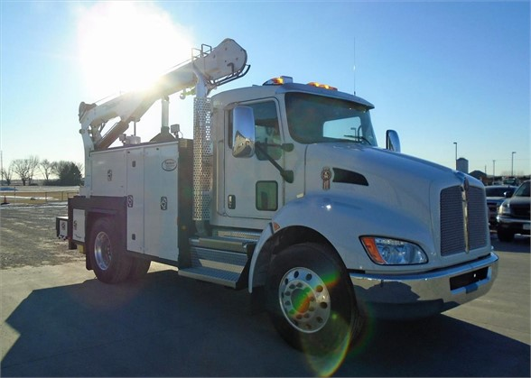 NEW 2021 KENWORTH T270 SERVICE - UTILITY TRUCK #1975
