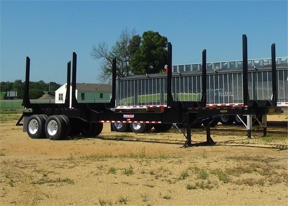 NEW 2020 PITTS LT40-8L FORESTRY - LOG TRAILER #2060