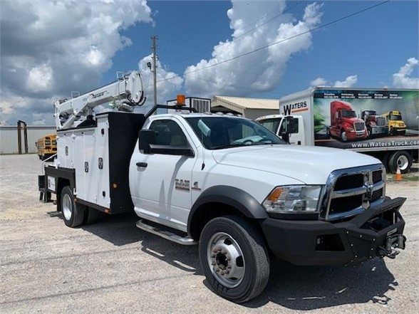 USED 2015 RAM 5500 HD SERVICE - UTILITY TRUCK #2167