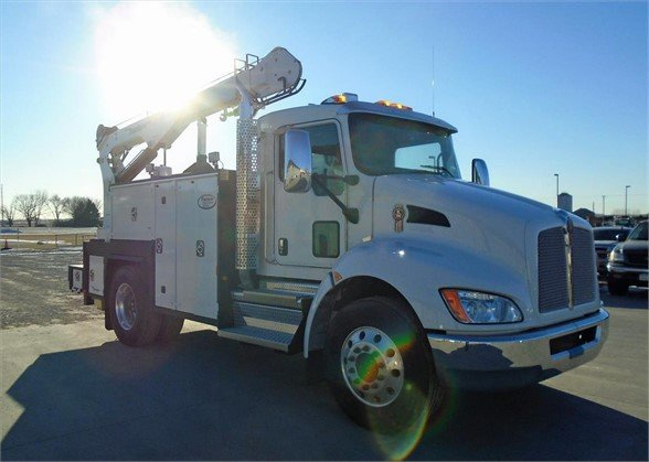 NEW 2021 KENWORTH T270 SERVICE - UTILITY TRUCK #2206