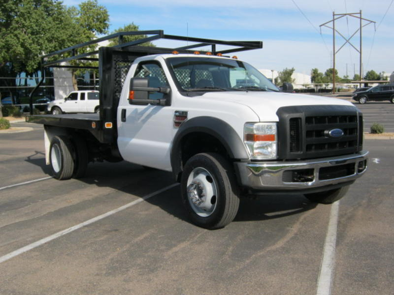 used 2008 ford f450 flatbed truck for sale in az 1393. Black Bedroom Furniture Sets. Home Design Ideas