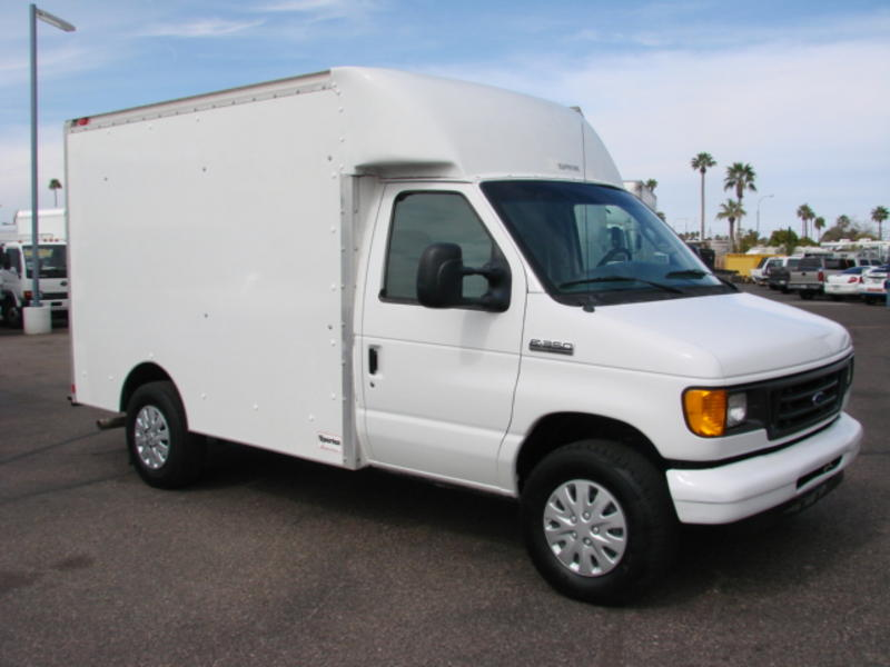 Pictures Of Ford E350 Box Trucks For