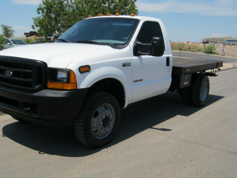 Truck For Sale >> USED 2001 FORD F550 FLATBED TRUCK FOR SALE IN AZ #1472
