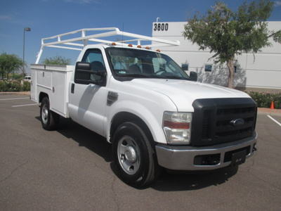 USED 2008 FORD F350 SRW SERVICE - UTILITY TRUCK #2235-2