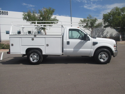 USED 2008 FORD F350 SRW SERVICE - UTILITY TRUCK #2235-3
