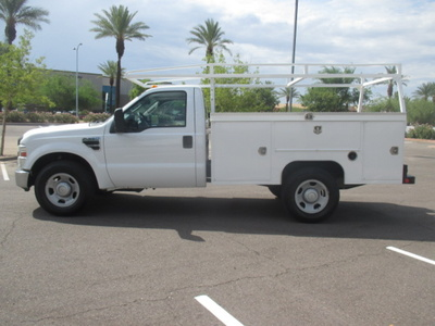 USED 2008 FORD F350 SRW SERVICE - UTILITY TRUCK #2235-6