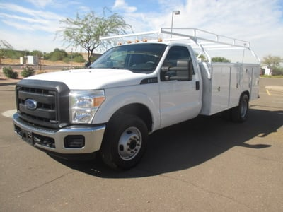 USED 2015 FORD F350 SERVICE - UTILITY TRUCK #2271-1