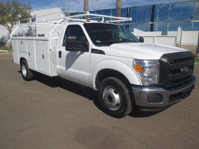 USED 2015 FORD F350 SERVICE - UTILITY TRUCK #2271-2