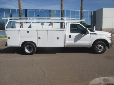USED 2015 FORD F350 SERVICE - UTILITY TRUCK #2271-3