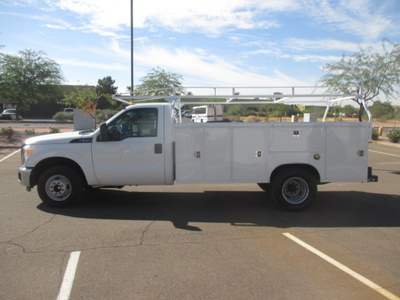 USED 2015 FORD F350 SERVICE - UTILITY TRUCK #2271-6
